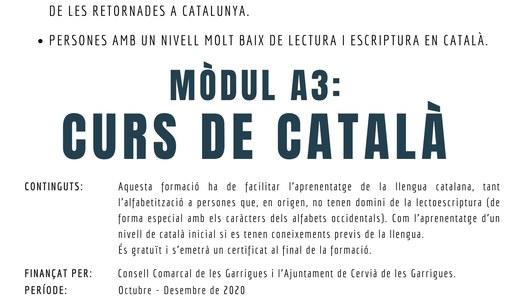 MÒDUL A3 - CURS DE CATALÀ