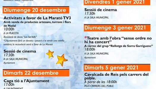 PROGRAMA FESTES DE NADAL