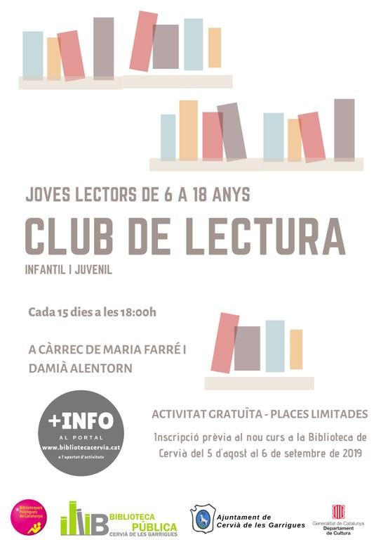 CARTELL Club de lectura infantil i juvenil 2019-2020.jpg
