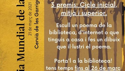 1er Concurs de Dibuix del Dia Mundial de la Poesia