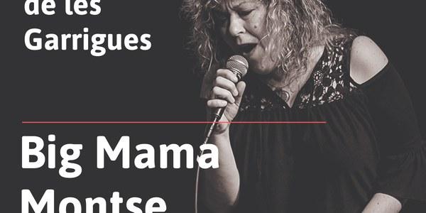 Cartell Big Mama Montse a Cervià